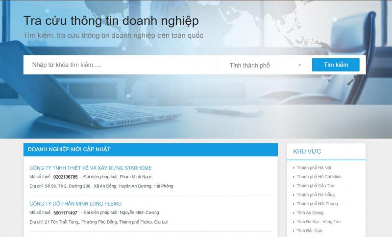 Trang web Doanhnghiepmoi