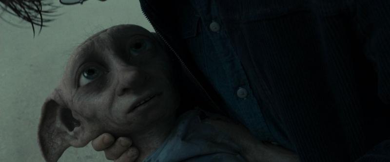 Chú gia tinh trung thành Dobby trước khi qua đời