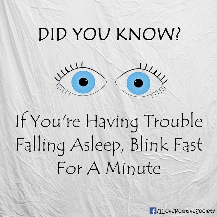 Chớp mắt liên tục khi bạn khó ngủ