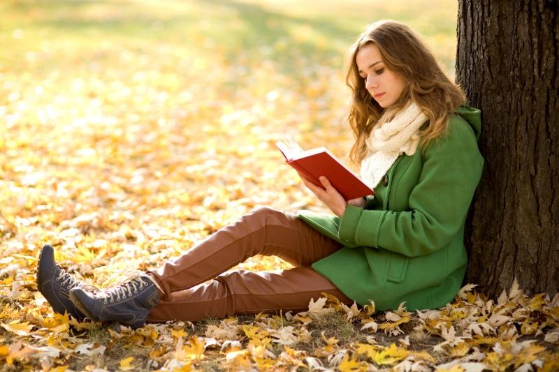 Hãy lựa chọn không gian phù hợp để đem lại cảm giác cho bạn khi đọc sách.