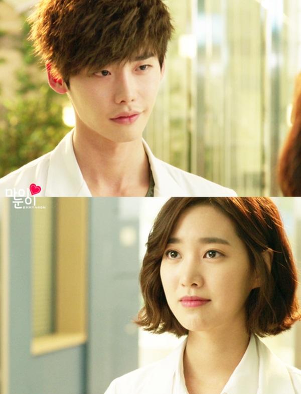 Lee Jong Suk và nữ chính Jin Se Yeon
