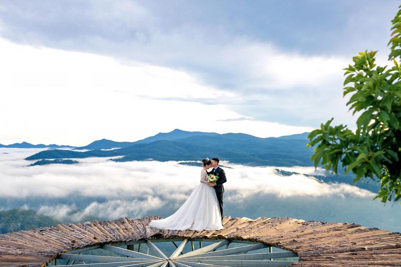 Ảnh cưới tại Đồi chân mây Đà Lạt