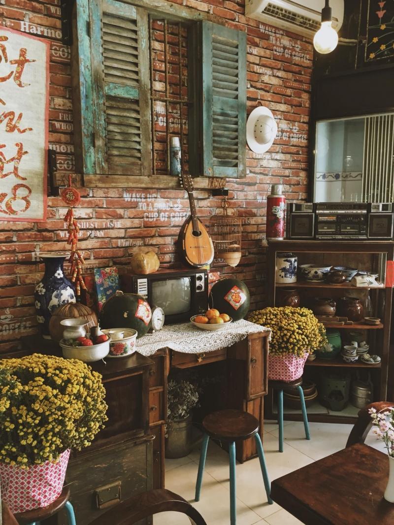 Thiết kế cổ điển chính là điểm nhấn của quán