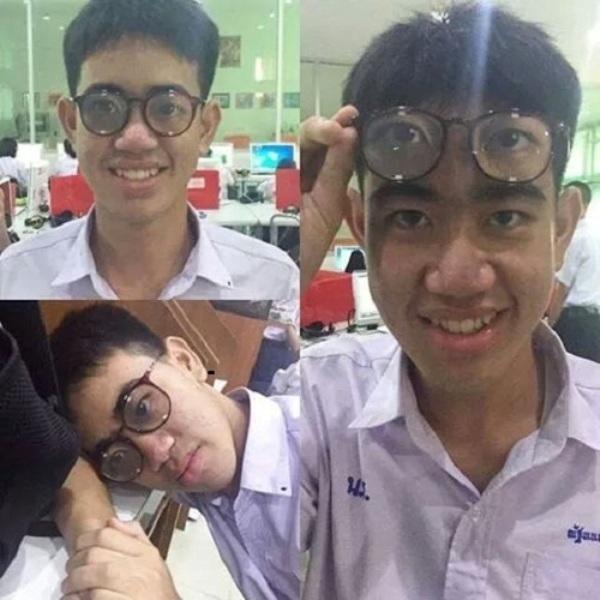Với đôi kính thần kì này thì có thể qua mắt thầy cô để mà chợp mắt bất cứ lúc nào