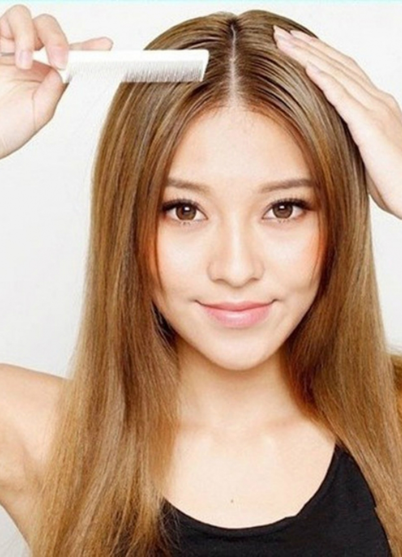 Đổi ngôi thường xuyên giúp tóc không bị xẹp