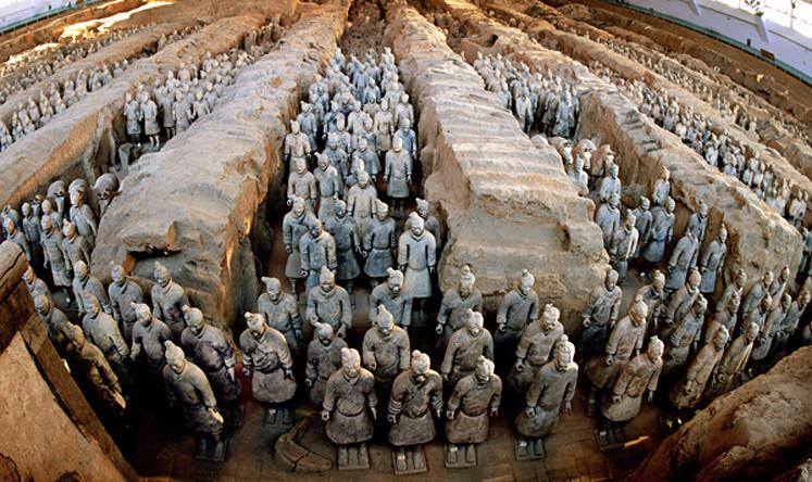 Đội quân đất nung - điểm du lịch hấp dẫn tại Thiểm Tây (Trung Quốc)