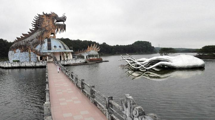Đồi Thiên An - Hồ Thủy Tiên