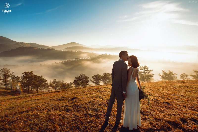Ảnh cưới tại Đồi trọc Đà Lạt