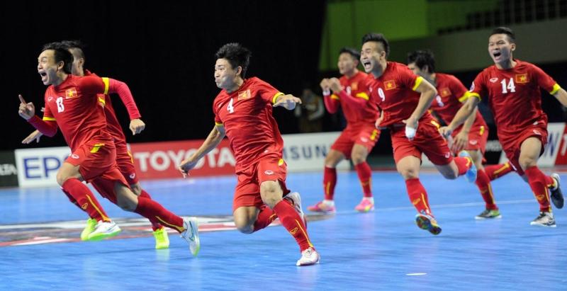 Tuyển Futsal Việt Nam đã giành được những chiến thắng lịch sử.
