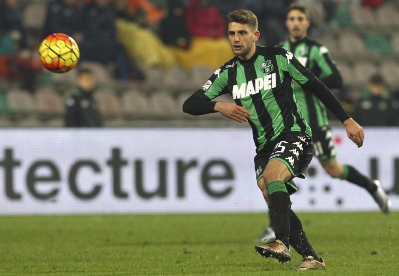 Domenico Berardi đang thi đấu cho Sassuolo