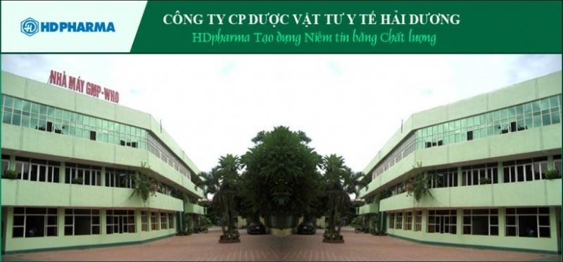 Công ty CP Dược Vật tư Y tế Hải Dương