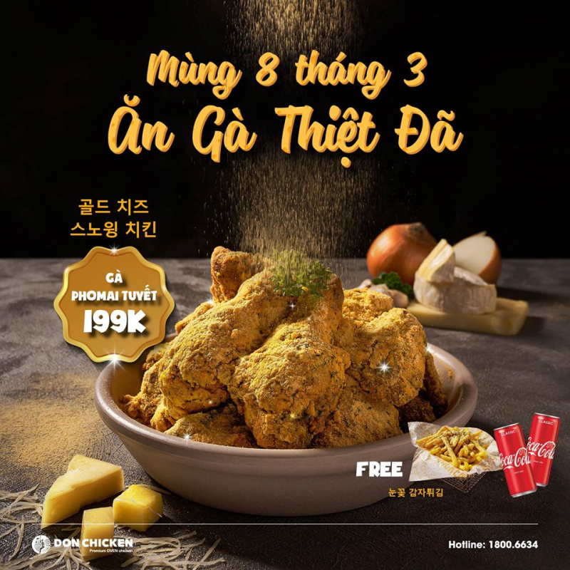 Don Chicken Hàm Nghi