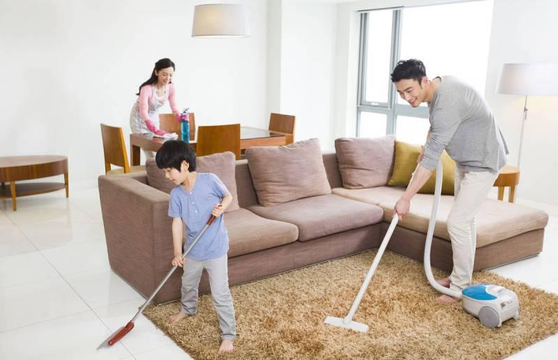 Dọn dẹp nhà cửa