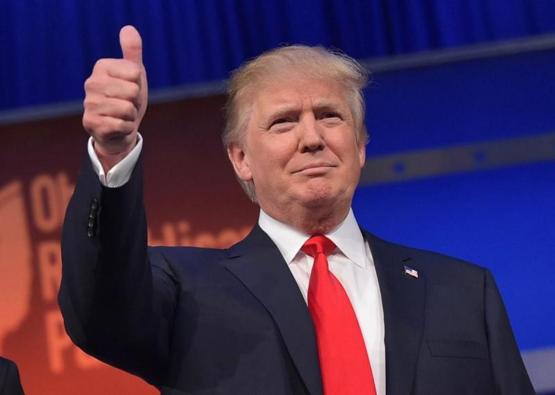 Donald Trump dịp tham quan Nha Trang