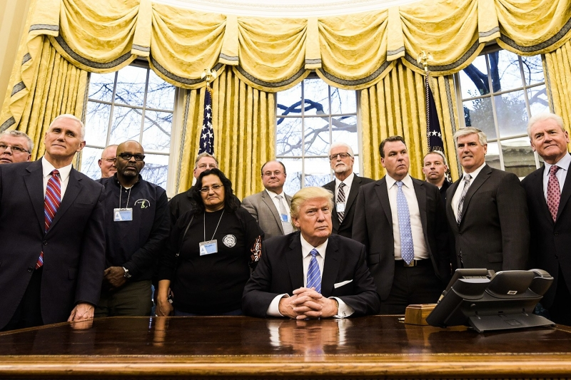 Cuộc chuyển giao quyền lực tại Nhà Trắng