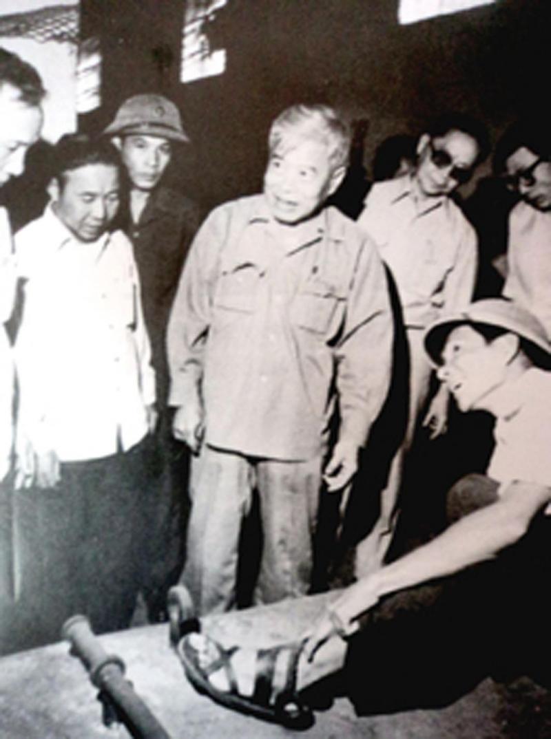 Đồng chí Phạm Hùng