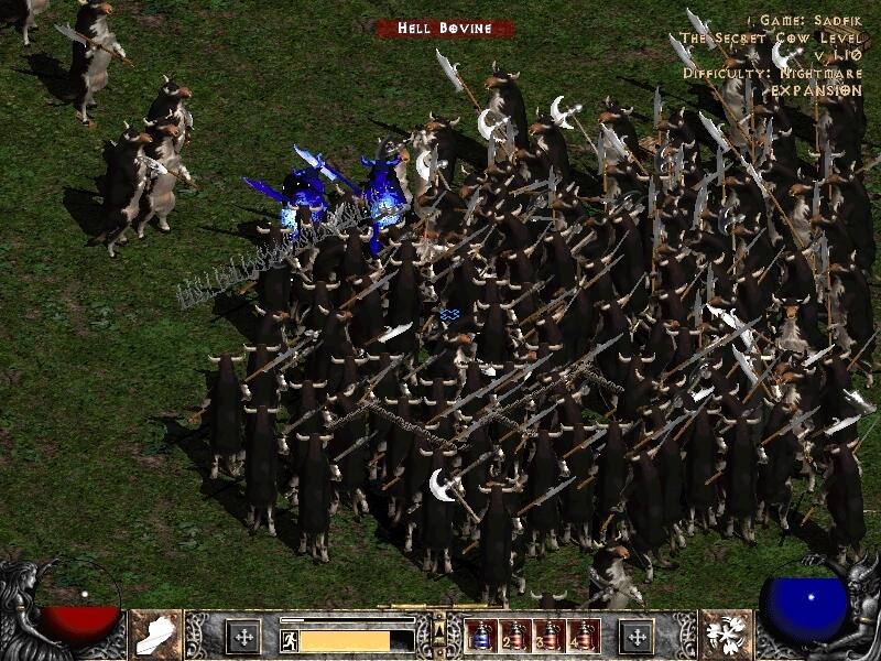Cow Gate - một trong những bí mật Blizzard không công khai với game thủ