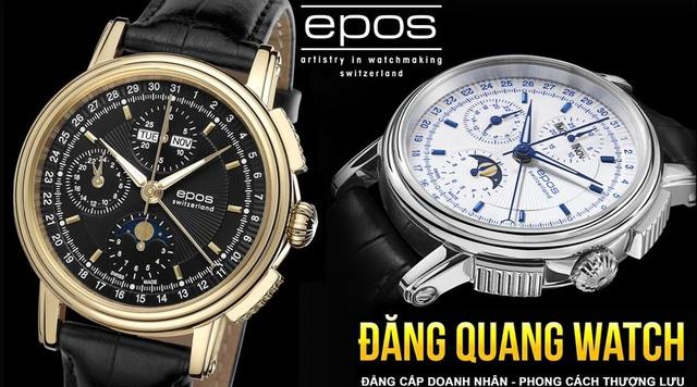 Đồng hồ Đăng Quang xứng danh