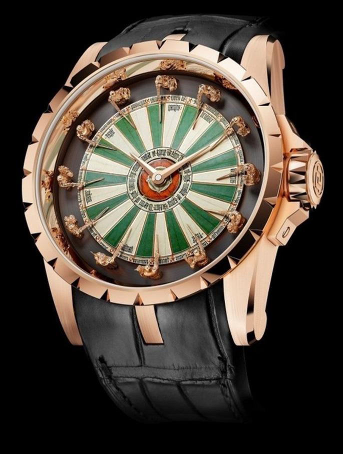 Đồng hồ hiệp sĩ bàn tròn Excalibur