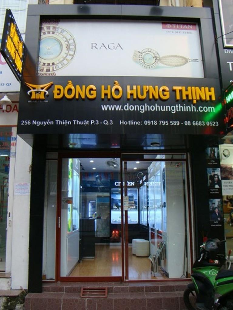 Cửa hàng đồng hồ Hưng Thịnh