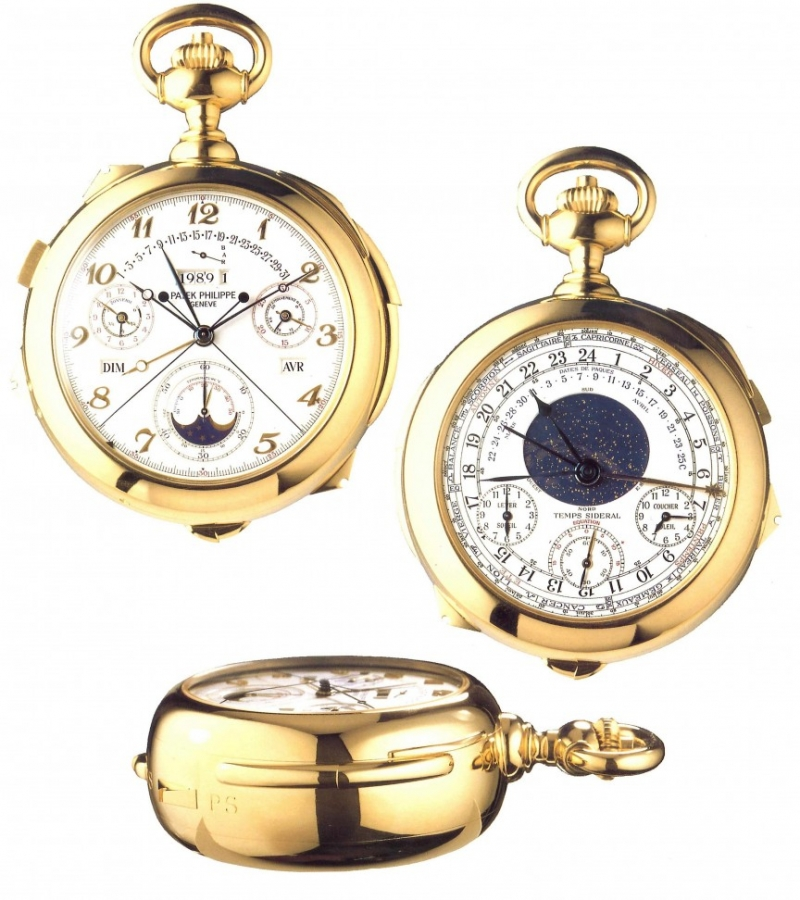 Chiếc đồng hồ này có tới 18 tính năng và có hai mặt.