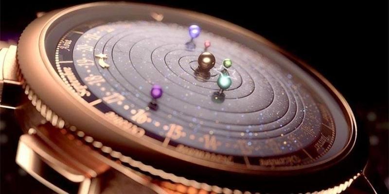 Đồng hồ thiên văn học Midnight Planétarium