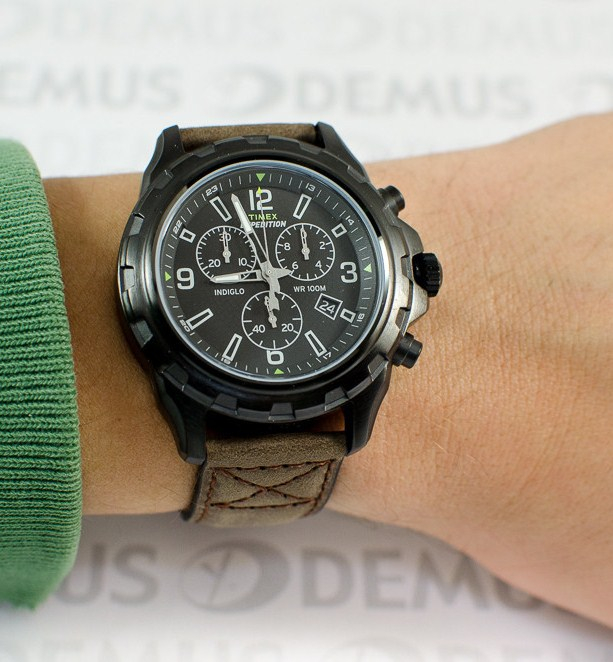 Đồng hồ Timex Men's T499869J Expedition Rugged Black Watch