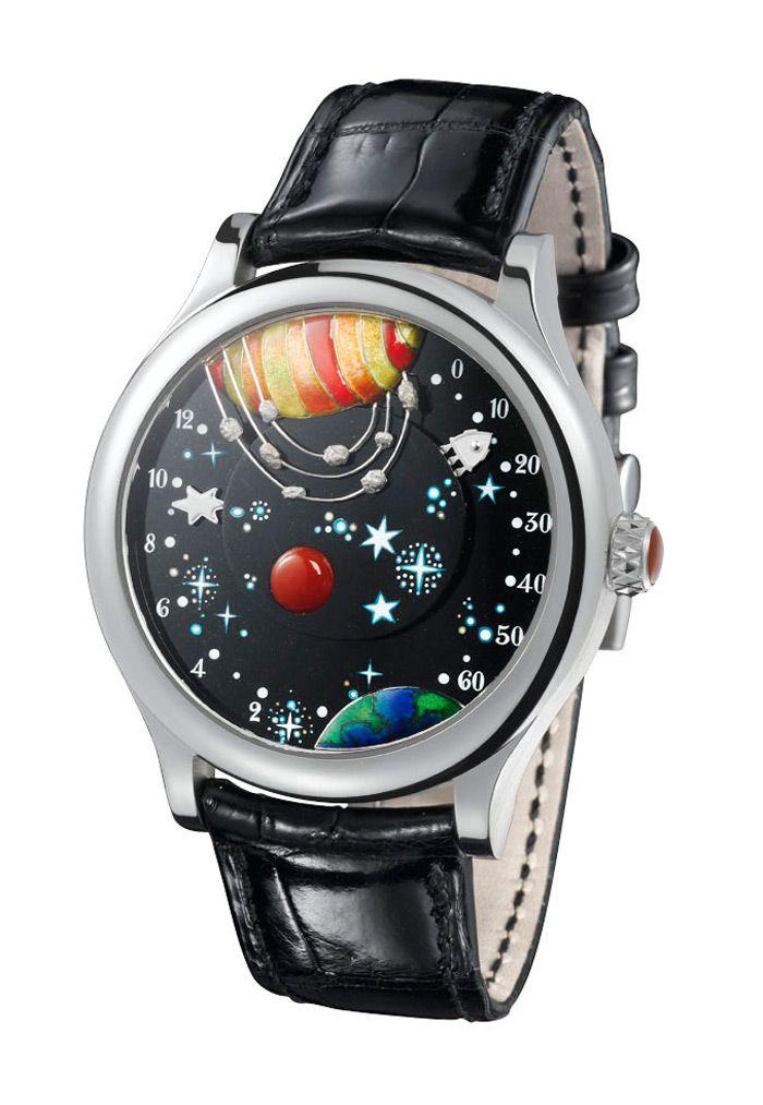 Đồng hồ từ Trái đất đến Mặt trăng