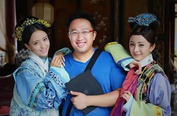 Từ trái sang: Đồng Lệ Á, Vu Chính, Dương Mịch