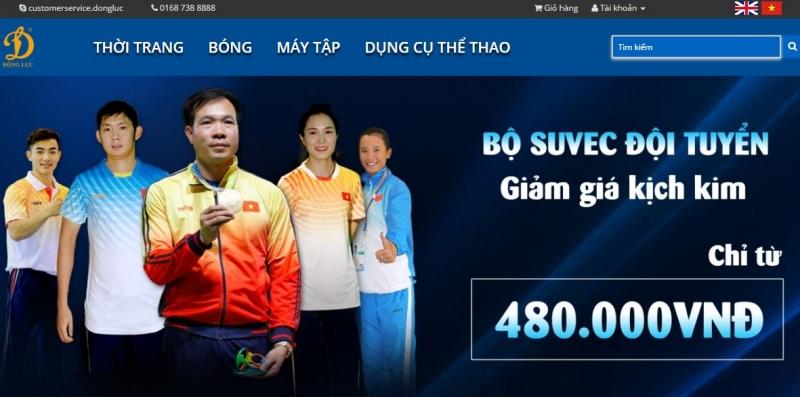 Trang web của Động Lực Group