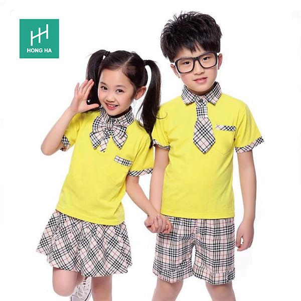 Đồng phục Hồng Hà - Bắc Giang