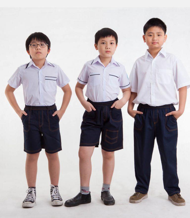 Đồng phục học sinh Tiểu học (ảnh minh họa)
