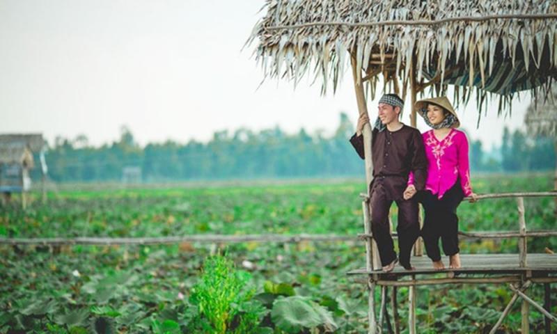 Top 10 Địa điểm chụp hình cưới ngoại cảnh lãng mạn nhất miền Tây