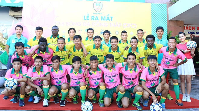 Lễ xuất quân dự V-League 2015