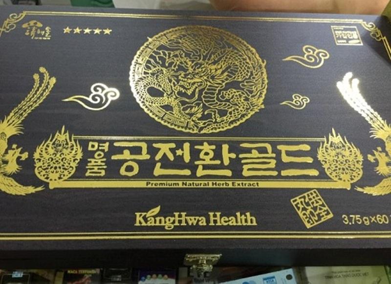 Viên Đông Trùng Kanghwa 60 Viên Tăng Cường Sinh Lực Nam Giới: