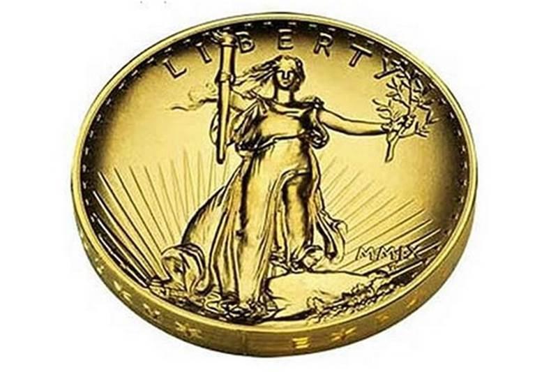 Saint-Gaudens double eagle Ultra High Relief