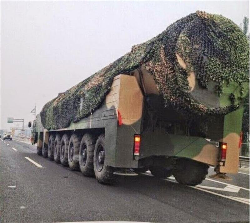 Tên lửa Dongfeng-41 của Trung Quốc.