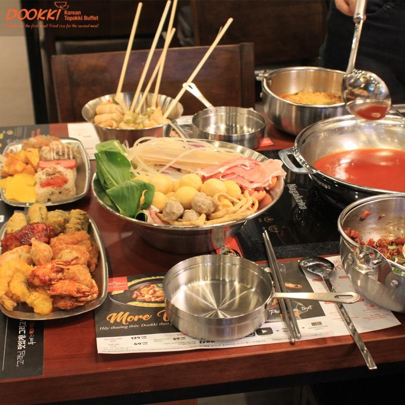 Dookki Việt Nam - Lẩu & Buffet Tokpokki