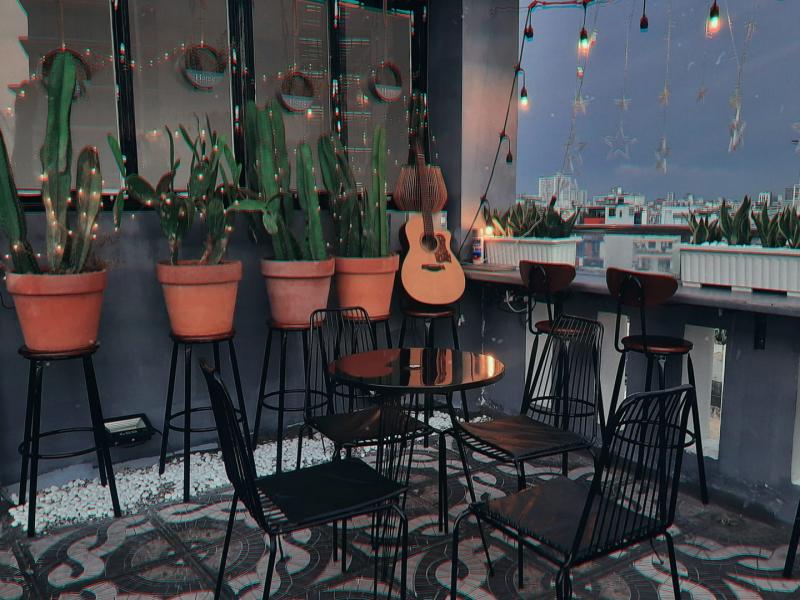 DOP rooftop coffee & more