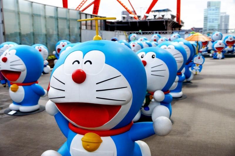 Doraemon từ lâu đã trở thành biểu tượng của Nhật Bản