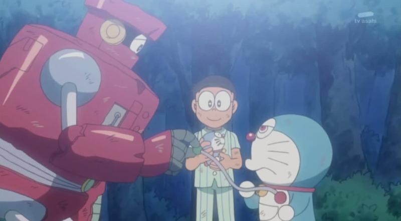 Phân cảnh cuối Ep 185 - Một ngày dài của Doraemon