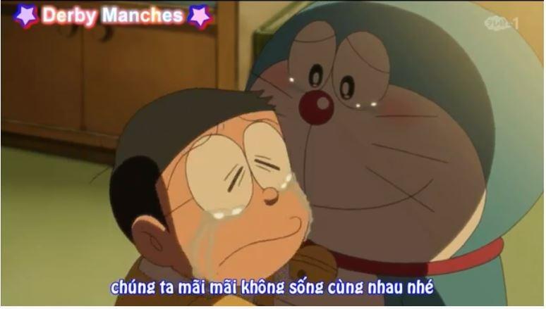 Phân đoạn cuối trong Doraemon Ep 62 - Nobita kun, tạm biệt nha! Doraemon trở về tương lai!