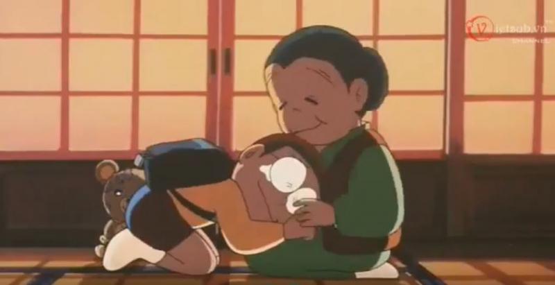 Khi Nobita gặp bà nội mình - Doraemon Kỷ niệm về bà