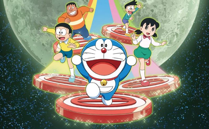 Phim Doraemon: Nobita và mặt trăng phiêu lưu ký