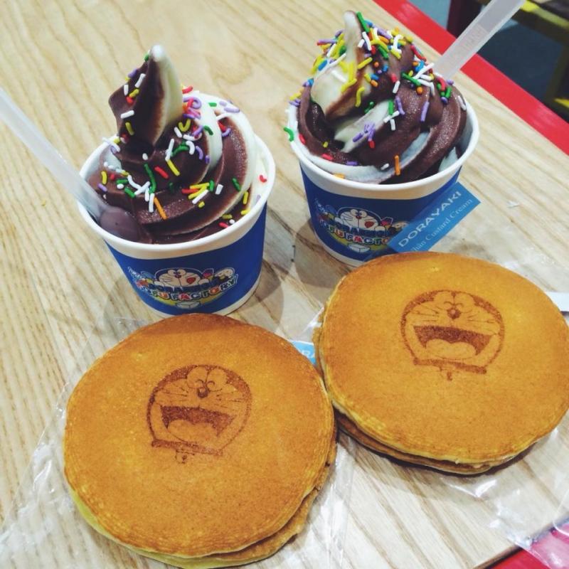Bánh rán hình Doraemon rất dễ thương