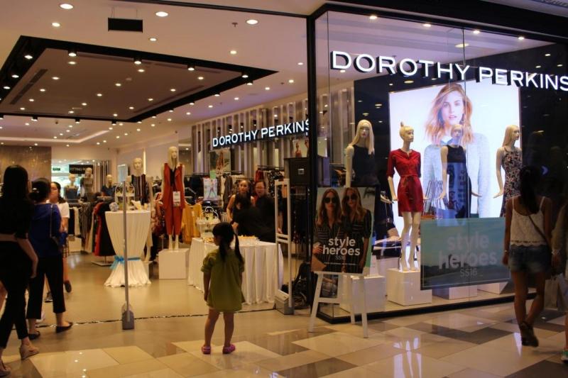 Cửa hàng Dorothy Perkins ở TTTM SC Vivo City - TP HCM