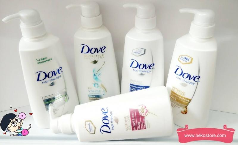 Nhãn hiệu dầu gội Dove
