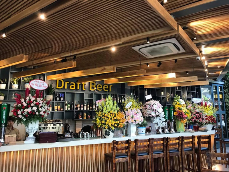 Luxury bar space