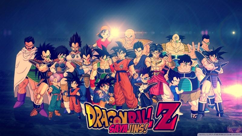 Gia đình Dragon Ball.