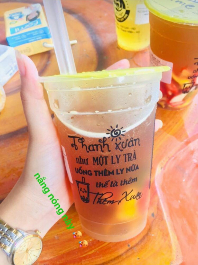 Trà chanh Dream Tea